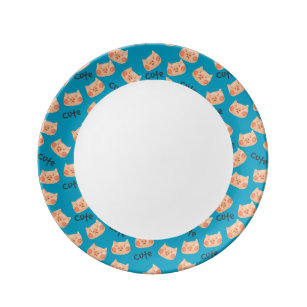 Dinner Plate  sc 1 st  Zazzle & Kawaii Pig Plates | Zazzle