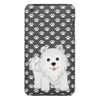 Kawaii Cute Samoyed Puppy Dog Cartoon Animal Case-Mate iPod Touch Case