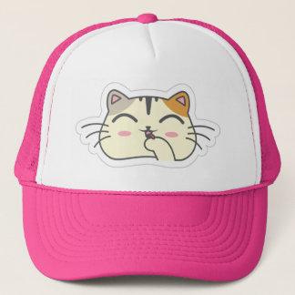 Kawaii Cute Sassy Little Kitty Kitten Cat. Trucker Hat