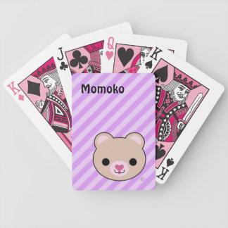 Kawaii Cute Teddy Bear Bicycle® Playing Cards