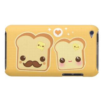 Kawaii cute toasts couple casematecase