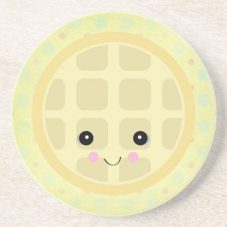 kawaii cute waffle coasters