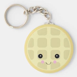 kawaii cute waffle keychains