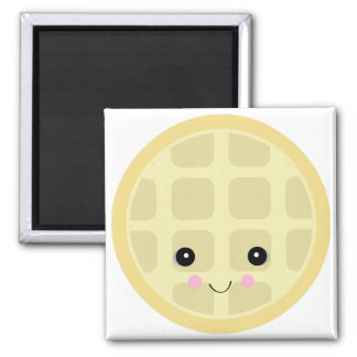 kawaii cute waffle magnet