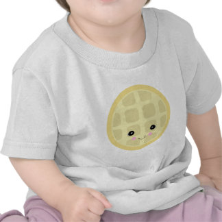 kawaii cute waffle tshirt