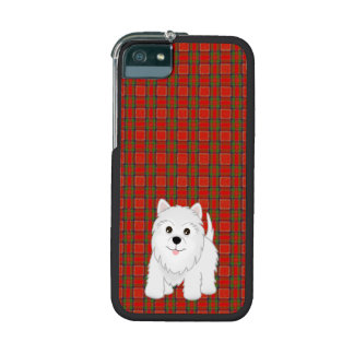 Kawaii Cute West Highland White Terrier Puppy Dog Case For iPhone 5