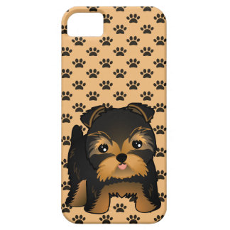 Kawaii Cute Yorkshire Terrier Puppy Dog iPhone 5 Covers