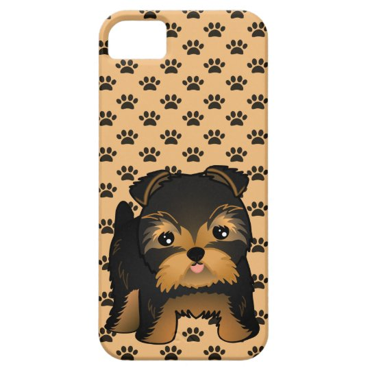 Kawaii Cute Yorkshire Terrier Puppy Dog iPhone SE/5/5s Case
