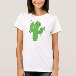 Kawaii dancing cactus t-shirt. T-Shirt