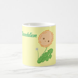 Kawaii Dandelion Mug