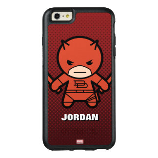 Kawaii Daredevil With Paired Short Sticks OtterBox iPhone 6/6s Plus Case