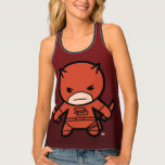 Kawaii Daredevil With Paired Short Sticks Tank Top