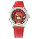 Kawaii Daredevil With Paired Short Sticks Wristwatch