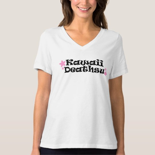 Kawaii Deathsu V-Neck T-Shirt