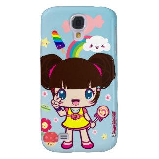 Kawaii Decora Girl Yuriko Samsung Galaxy S4 Case