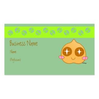 Kawaii del garbanzo tarjetas de visita