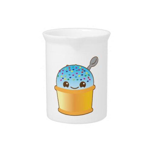 ¡Kawaii delicioso delicioso del helado del cubo! N Jarras De Beber