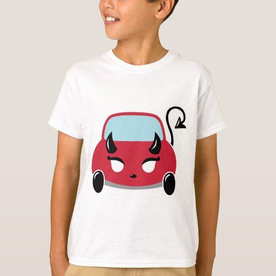 Kawaii Devil Car T-Shirt