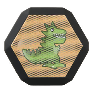Kawaii Dinosaur Black Bluetooth Speaker