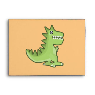 Kawaii Dinosaur Envelope