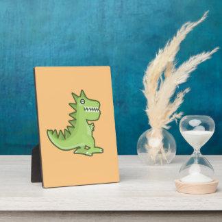 Kawaii Dinosaur Plaque