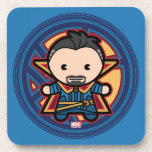 Kawaii Doctor Strange Emblem Beverage Coaster