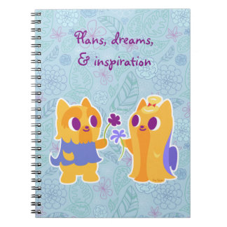 Kawaii Dog Best Friend or Puppy Love Yorkies Notebook