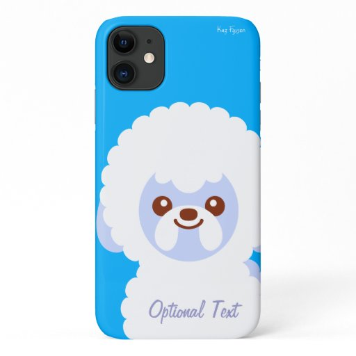 Kawaii Dog Bichon iPhone 11 Case