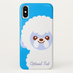 Case-Mate Barely There Apple iPhone XS Case with Bichon Frise Phone Cases design
