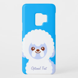 Case-Mate Barely There for Samsung Galaxy S9 Case with Bichon Frise Phone Cases design