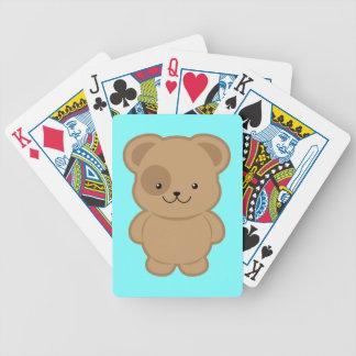 Kawaii Dog Bicycle Playing Cards