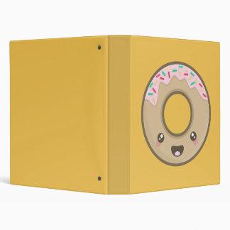 Kawaii donut binder