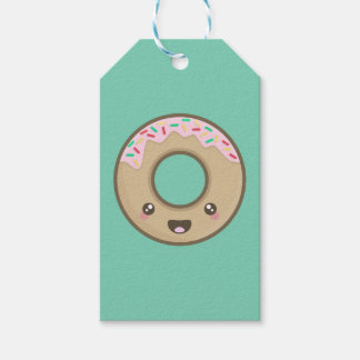 Kawaii donut gift tags