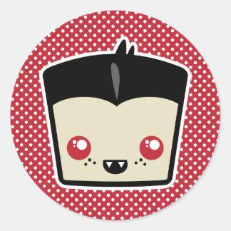 Kawaii Dracula Stickers