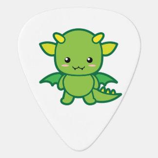 Kawaii Dragon Guitar Pick