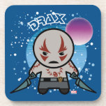 Kawaii Drax In Space Beverage Coaster