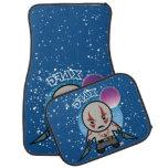 Kawaii Drax In Space Car Floor Mat