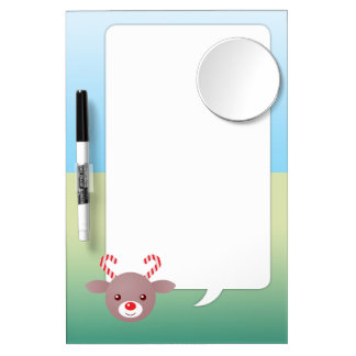 Kawaii Dry Erase Board With Mirror