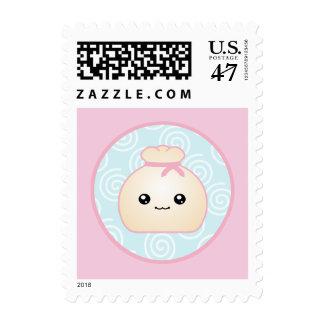Kawaii Dumpling Postage Stamp