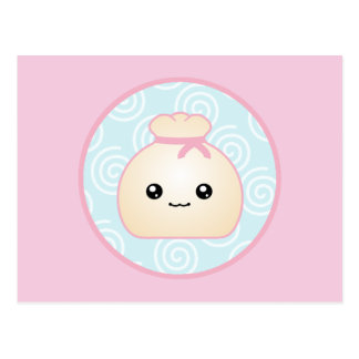 Kawaii Dumpling Postcard
