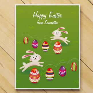 Kawaii Easter Bunny Easter Eggs Countdown Calendars