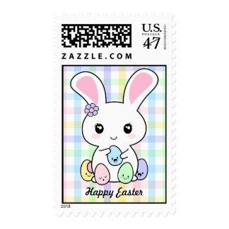 Kawaii Easter Bunny Postage