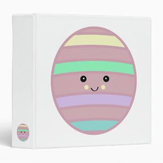 kawaii easter eggy binder