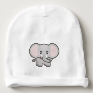 Kawaii elephant baby beanie