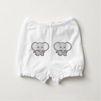Kawaii elephant diaper cover