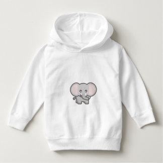 Kawaii elephant hoodie