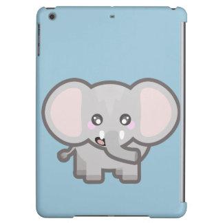 Kawaii elephant iPad air case