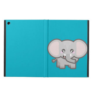 Kawaii elephant iPad air cases