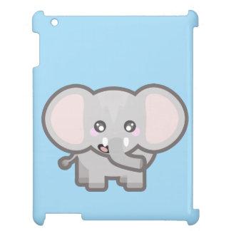 Kawaii elephant iPad cases