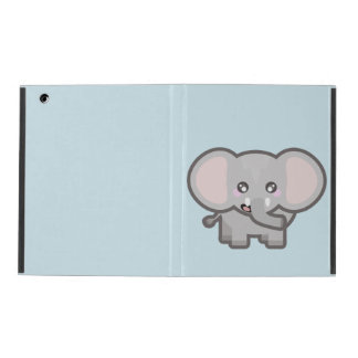 Kawaii elephant iPad cover